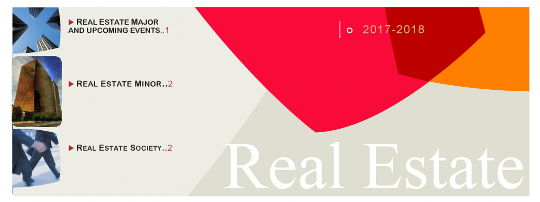 Check out the new Real Estate Center pamphlet!